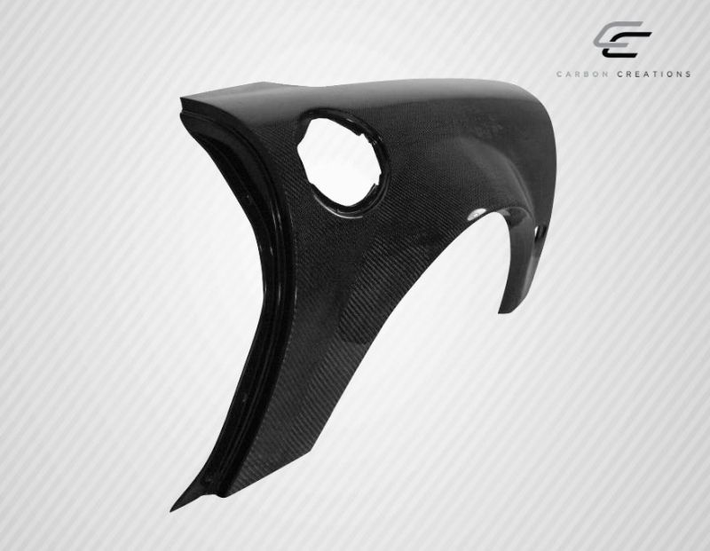 Carbon Creations ZR Edition Rear Fenders - 2 Piece - Carbon Creations 107097