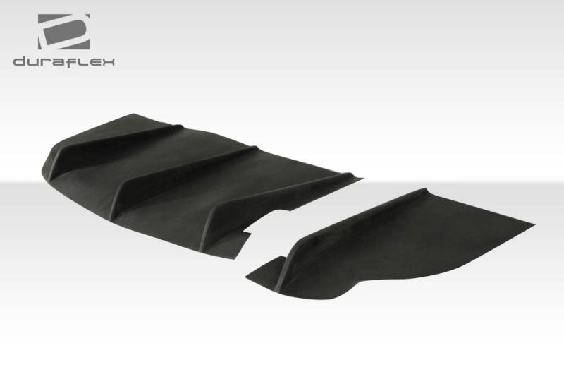 Duraflex GT500 Wide Body Rear Diffuser - 1 Piece - Duraflex 107271