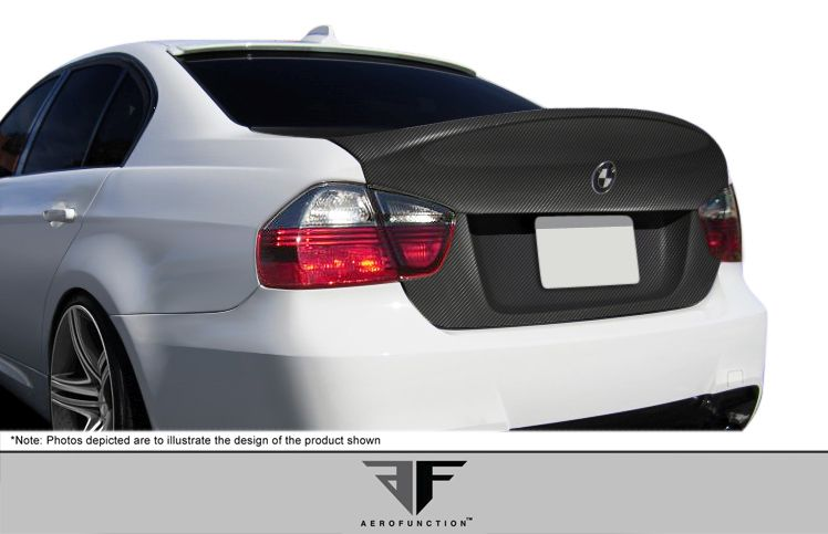 Aero Function Carbon AF-1 Trunk Lid ( CFP ) - 1 Piece - Aero Function 107376