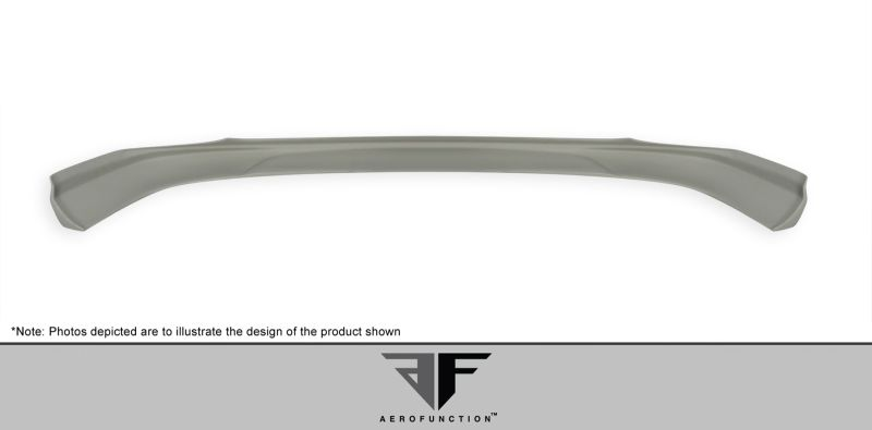 Aero Function AF-1 Front Add-On Spoiler ( GFK ) - 1 Piece (will only fit vehicles equipped with AMG sport bumpers only) - Aero Function 107391