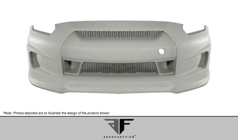 Aero Function AF-1 Front Bumper Cover ( GFK ) - 1 Piece - Aero Function 107394