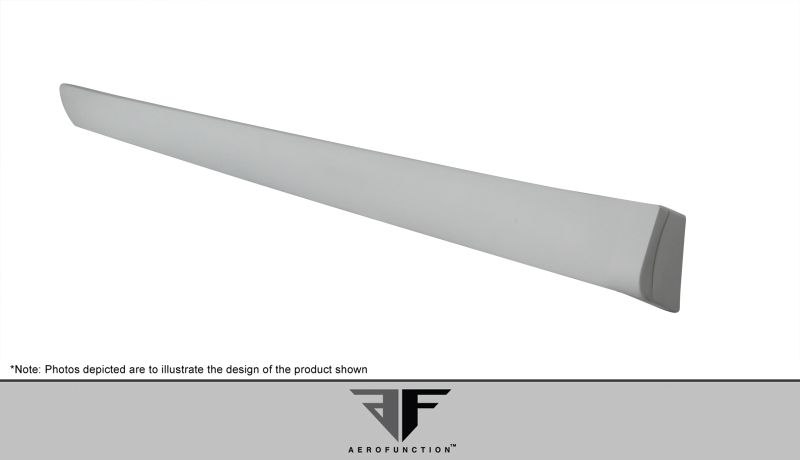 Aero Function AF-1 Wide Body Side Skirts ( PUR-RIM ) - 2 Piece - Aero Function 107568