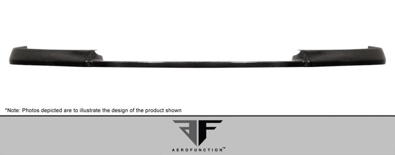 Aero Function Carbon AF-1 Front Add-On Spoiler ( CFP ) - 1 Piece - Aero Function 107907