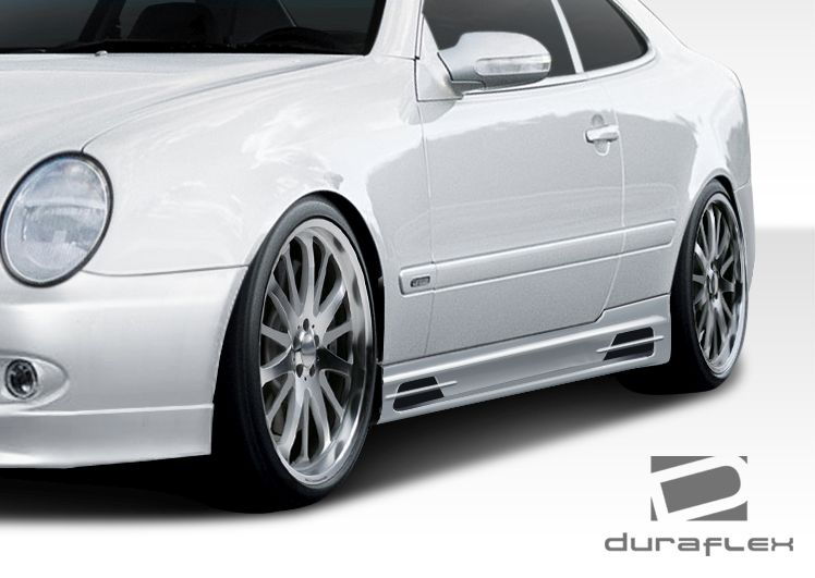 Duraflex BR-T Side Skirts Rocker Panels - 2 Piece - Duraflex 108052