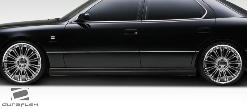Duraflex VIP Design Side Skirts Rocker Panels - 2 Piece - Duraflex 108107