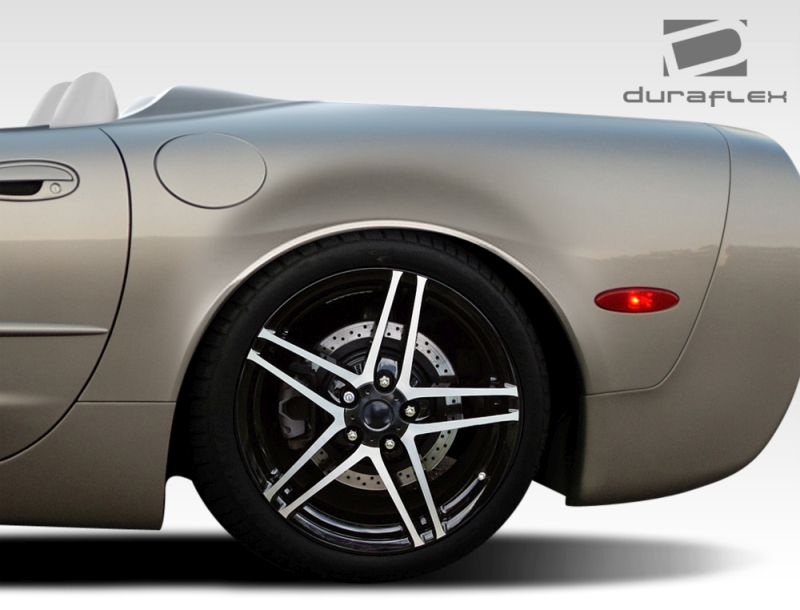 Duraflex ZR Edition Rear Fenders - 2 Piece - Duraflex 108125
