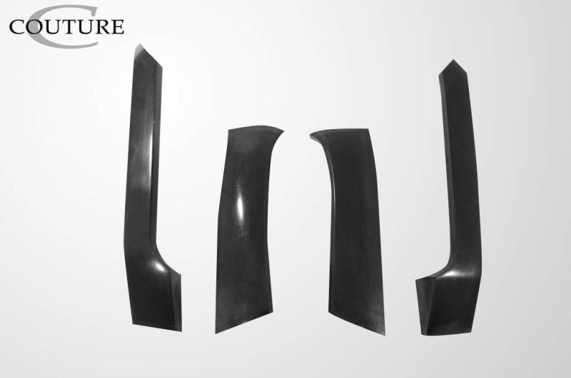 Couture Vortex Wide Body Front Fender Flares - 4 Piece - Couture 109172
