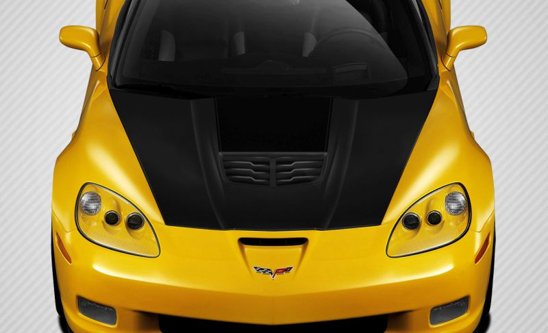 Carbon Creations Stingray Z Hood - 1 Piece - Carbon Creations 109917