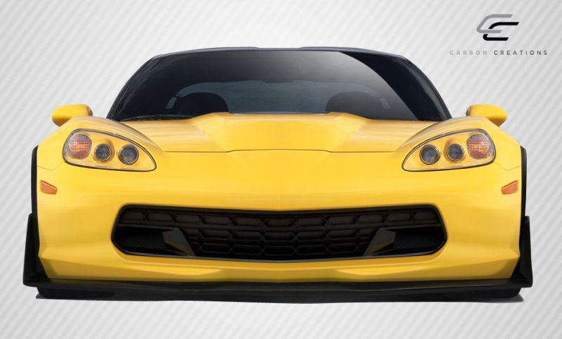 Carbon Creations Stingray Z Front Lip Under Air Dam Spoiler - 1 Piece - Carbon Creations 109918