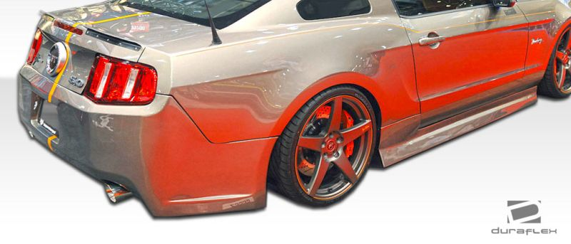 Duraflex Tjin Edition Side Skirts Rocker Panels - 2 Piece - Duraflex 106481