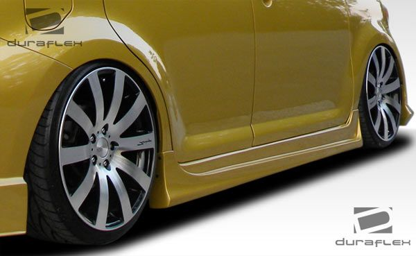 Duraflex Atlas Side Skirts Rocker Panels - 2 Piece - Duraflex 107057
