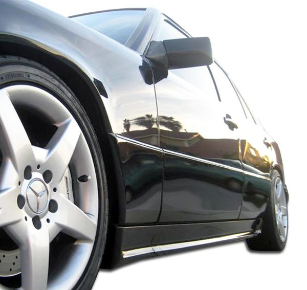 Duraflex AMG Look Side Skirts Rocker Panels - 2 Piece - Duraflex 105061