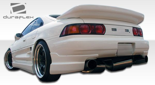 Duraflex Type B Side Skirts Rocker Panels - 2 Piece - Duraflex 101036
