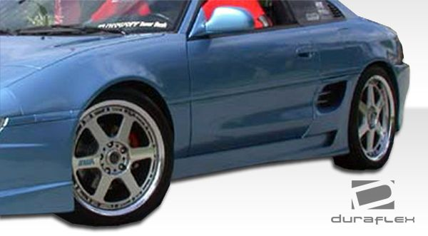Duraflex Type T Side Skirts Rocker Panels - 2 Piece - Duraflex 101046
