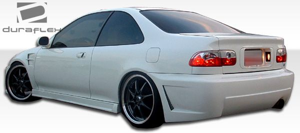 Duraflex B-2 Side Skirts Rocker Panels - 2 Piece - Duraflex 105542