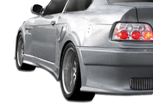 Duraflex I-Design Wide Body Side Skirts Rocker Panels - 2 Piece - Duraflex 106502