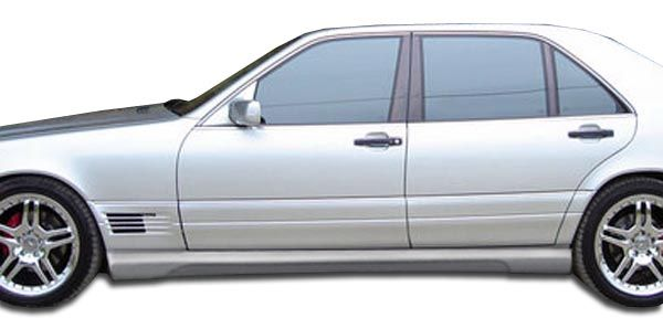 Duraflex W-1 Side Skirts Rocker Panels (short wheelbase) - 2 Piece - Duraflex 105383