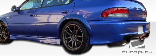 Duraflex S-Sport Body Kit - 4 Piece - Duraflex 104570