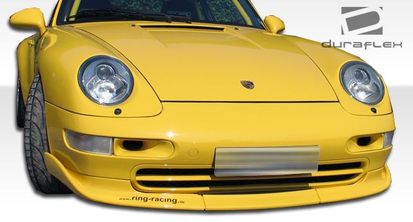 Duraflex Club Sport Front Lip Under Spoiler Air Dam - 3 Piece - Duraflex 105106