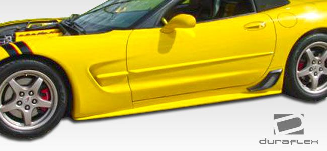 Duraflex AC Edition Side Skirts Rocker Panels - 2 Piece - Duraflex 107483