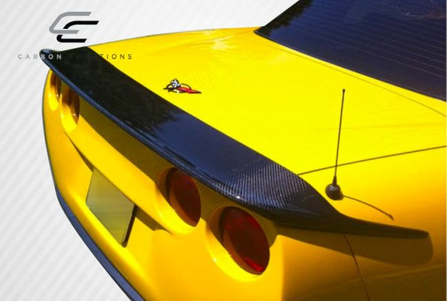 Carbon Creations CV-G Wing Trunk Lid Spoiler - 1 Piece - Carbon Creations 106894