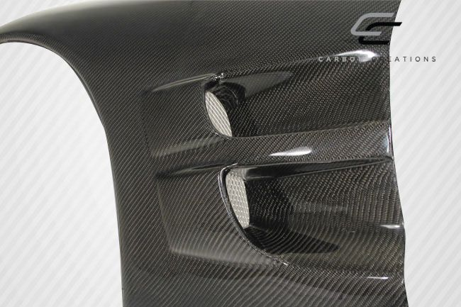 Carbon Creations ZR Edition Fenders - 2 Piece - Carbon Creations 105704