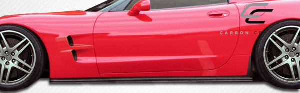 Carbon Creations ZR Edition Side Skirts Rocker Panels - 2 Piece - Carbon Creations 105697