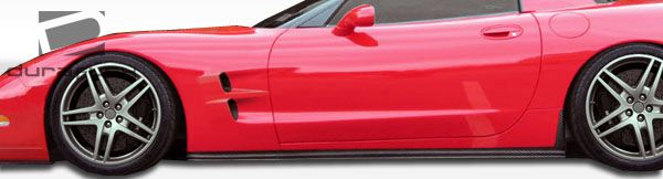 Duraflex ZR Edition Side Skirts Rocker Panels - 2 Piece - Duraflex 105696