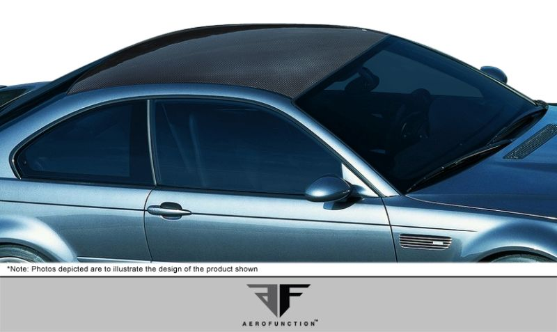 Aero Function Carbon AF-1 Hard Top Roof ( CFP ) - 1 Piece - Aero Function 107637