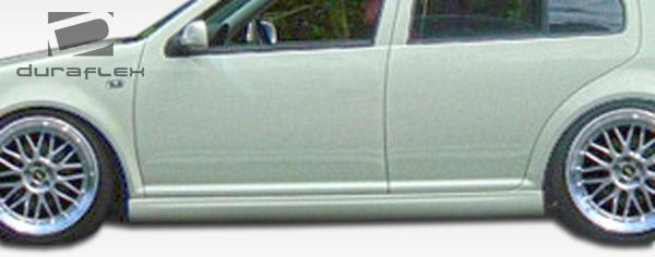 Duraflex Vortex Look Side Skirts Rocker Panels - 2 Piece - Duraflex 105965