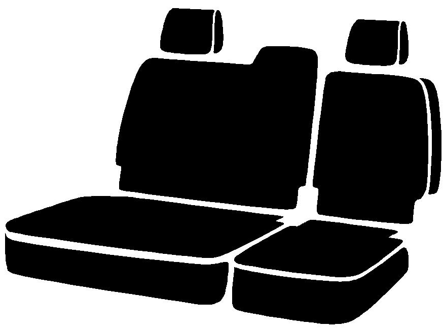 Fia Wrangler Series 2nd Row Black Seat Covers - Fia TR42-65 BLACK