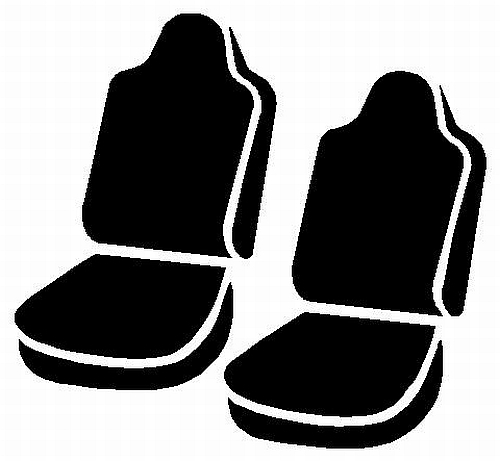 Fia Wrangler Series 1st Row Brown Seat Covers - Fia TR47-12 BROWN