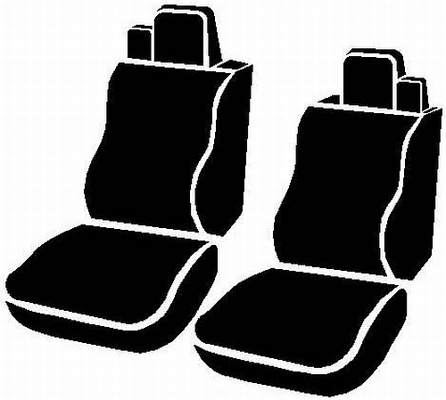 Fia Wrangler Series 1st Row Wine Seat Covers - Fia TR47-16 WINE