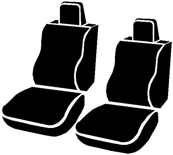 Fia Wrangler Series 1st Row Navy Seat Covers - Fia TR47-18 NAVY