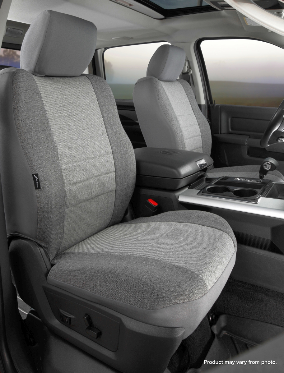 Fia OE Series 1st Row Dark Gray & Light Gray Seat Covers - Fia OE38-15 GRAY