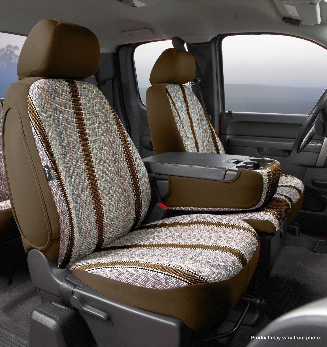 Fia Wrangler Series 1st Row Brown Seat Covers - Fia TR48-10 BROWN