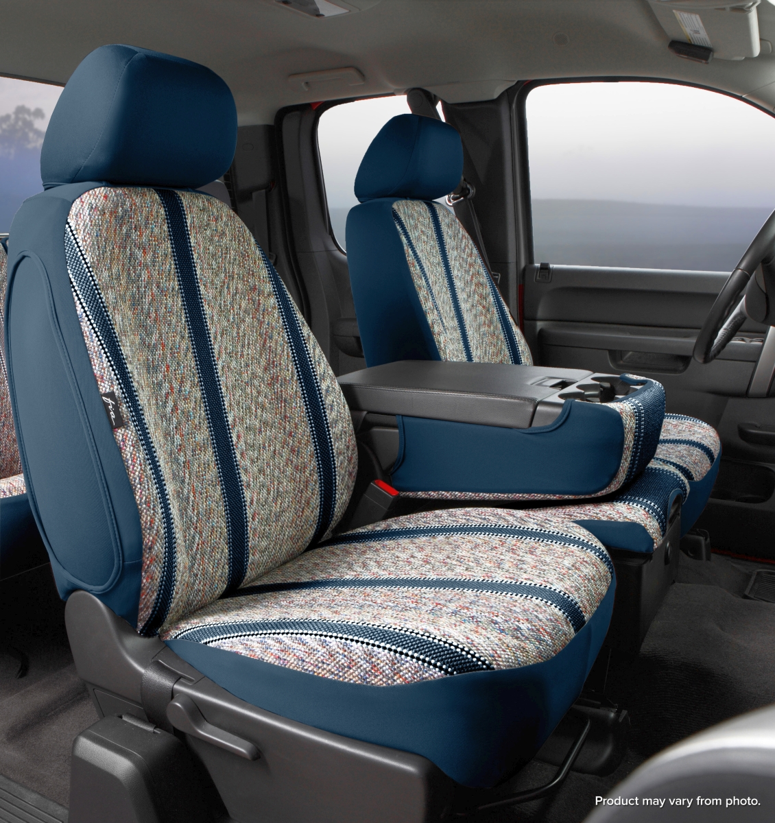 Fia Wrangler Series 1st Row Navy Seat Covers - Fia TR47-19 NAVY