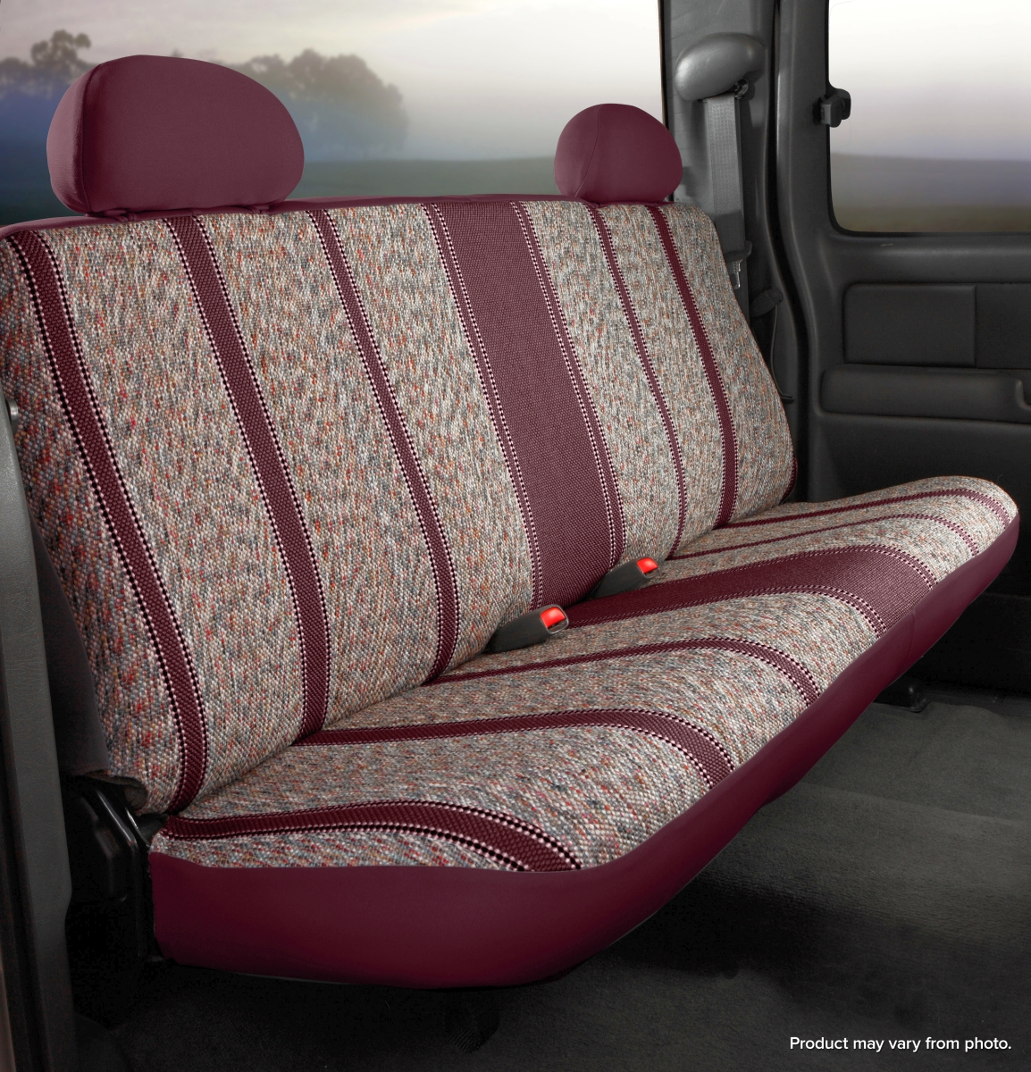 Fia Wrangler Series 1st Row Wine Seat Covers - Fia TR48-11 WINE