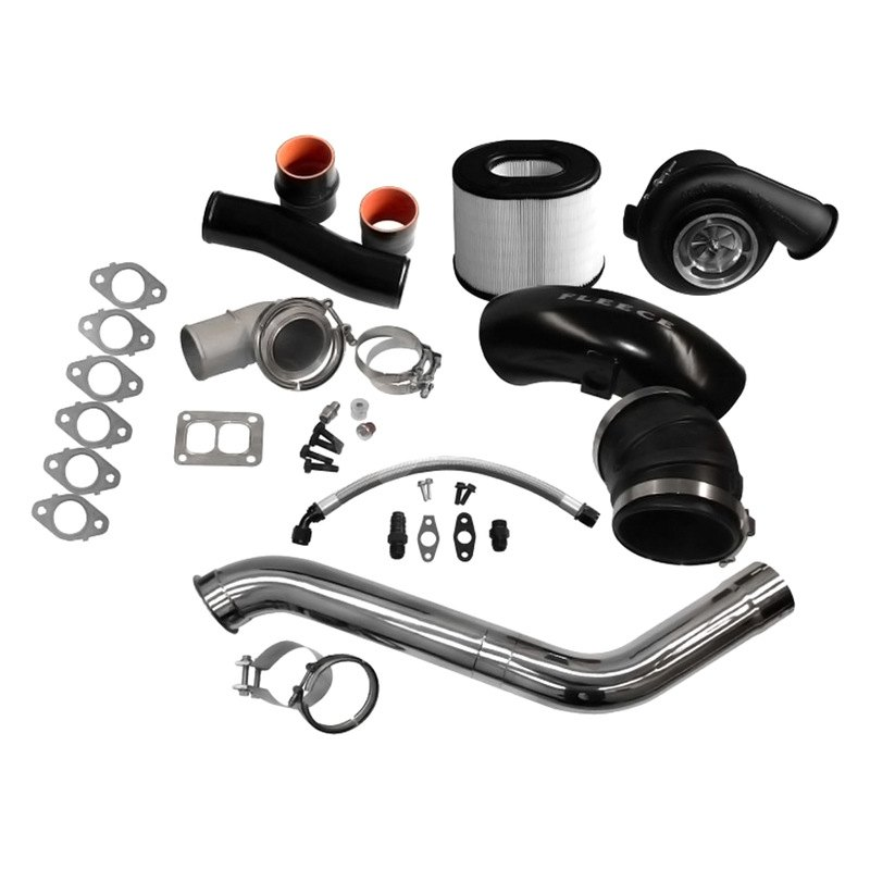 Fleece Performance 2nd Gen Swap Kit & Billet S471 Turbo for 4th Gen Cummins Without Manifold - Fleece Performance FPE-674-2G-71