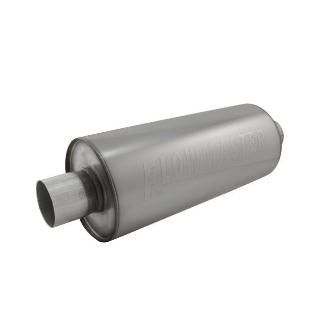 Flowmaster DBX Muffler - 2.50 Center In / 2.50 Center Out - Moderate Sound - Flowmaster 12514310
