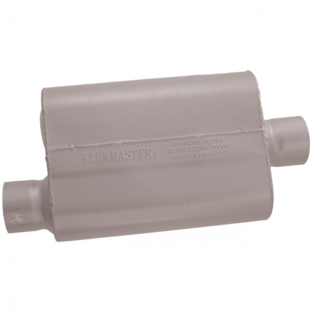 Flowmaster 40 Series Muffler - 3.00 Offset In / 3.00 Center Out - Aggressive Sound - Flowmaster 43041