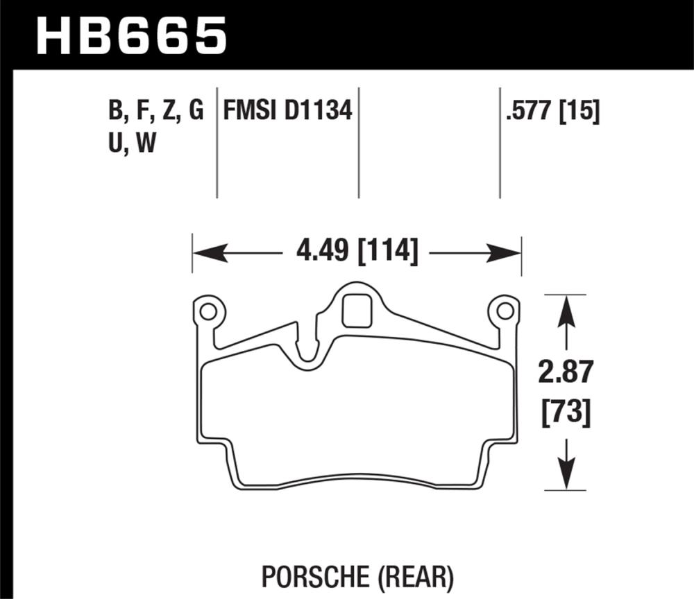 Hawk Hb665u 577 Free Shipping On Hawk Dtc 70 Brake Pads
