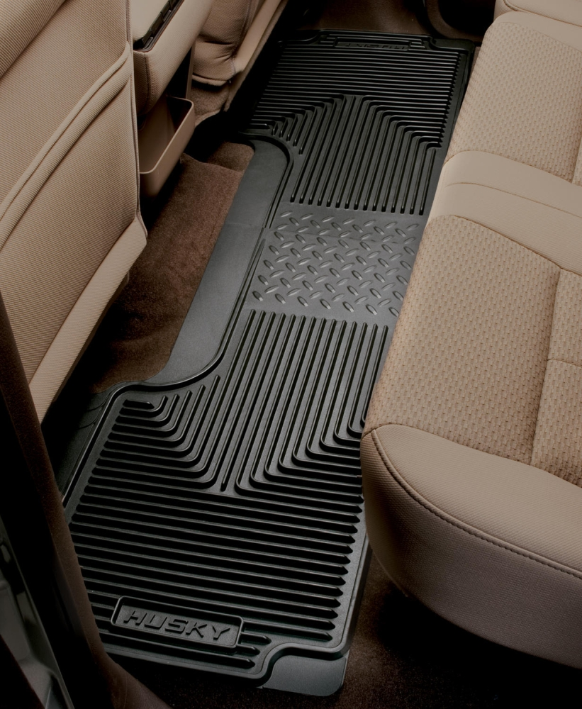 Husky Liners Black 2nd Or 3rd Seat Floor Mats - Husky Liners 52011
