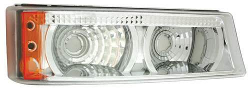 IPCW CWT-345C2 Chrome Tail Lamp Crystal Eyes 03-00-CWT-345C2