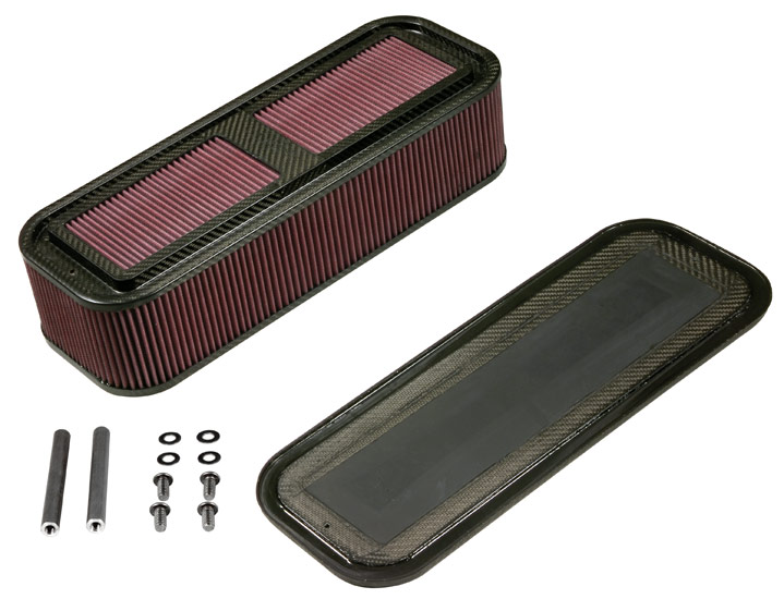 K&N Rectangular Custom Racing Assembly - K&N 100-8576