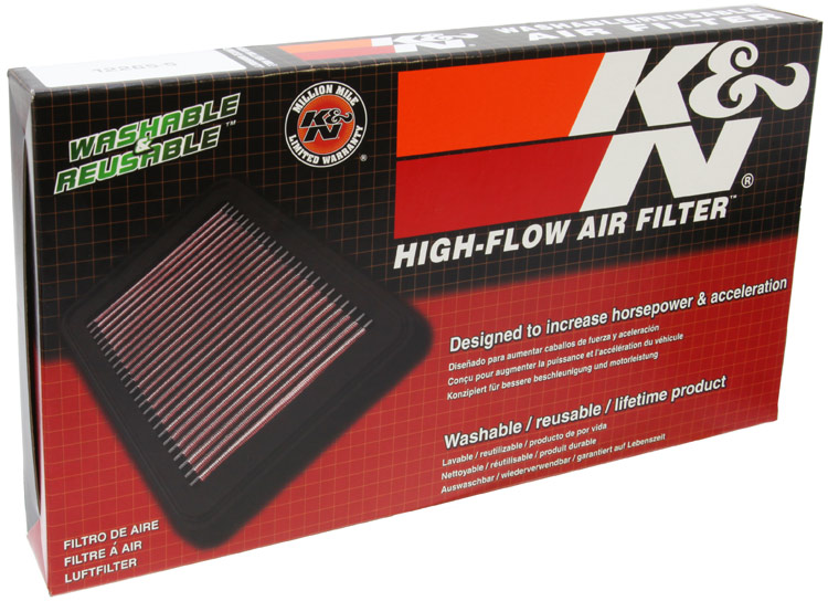 K&N Replacement Panel Air Filter - K&N 33-5041