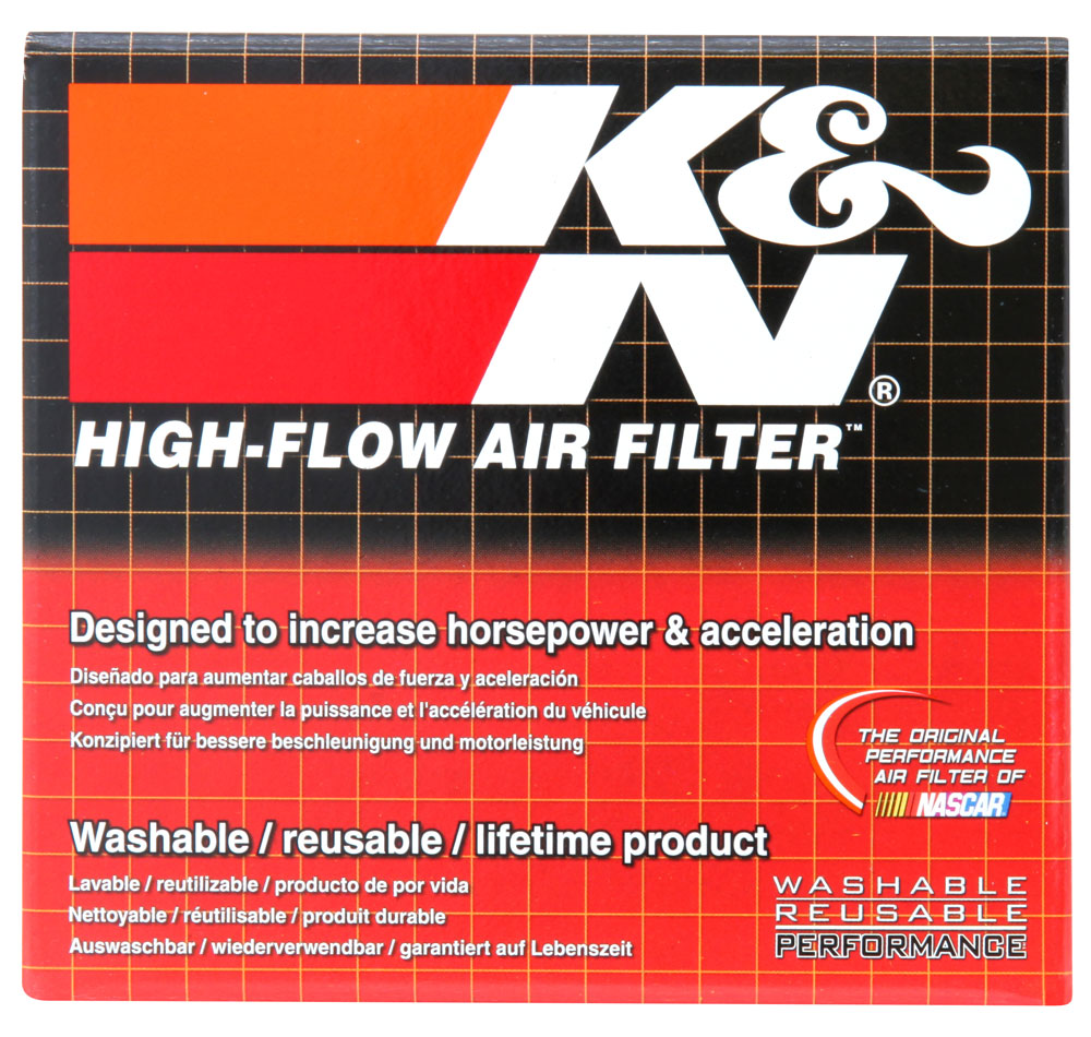 K&N Round Tapered Universal Clamp-On Air Filter - K&N RC-2330