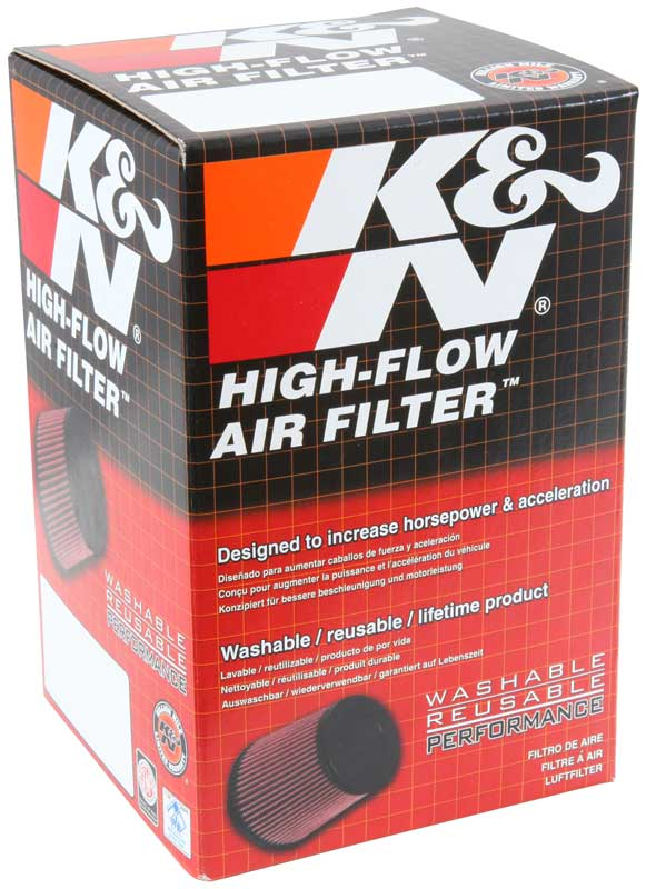 K&N Round Tapered Universal X-Stream Clamp-On Air Filter - K&N RX-4010