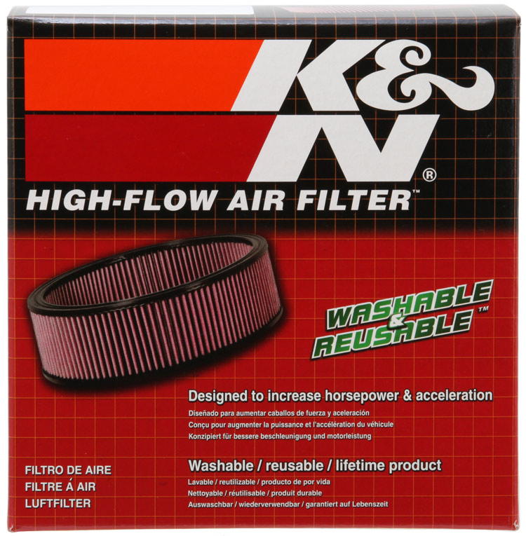 K&N Round Tapered Custom Racing Assembly - K&N 56-9327