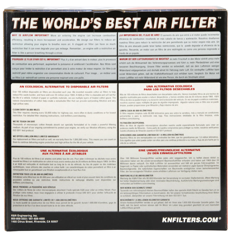 K&N Tapered Conical Air Filter - K&N E-9132